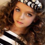 عکس دختر زبیا و مجذوب کننده