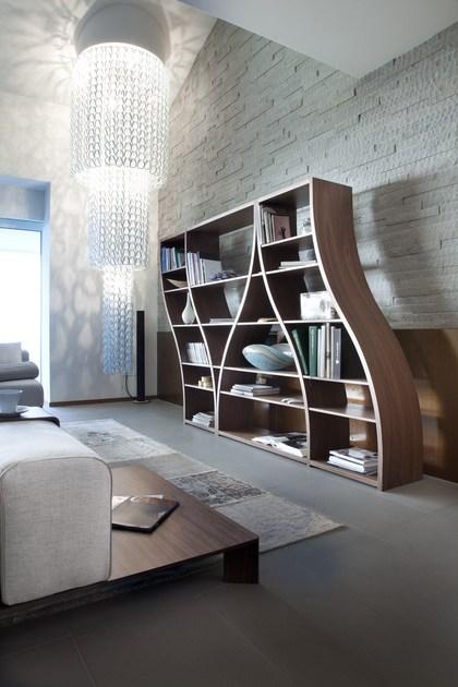 قفسه کتاب زمینی