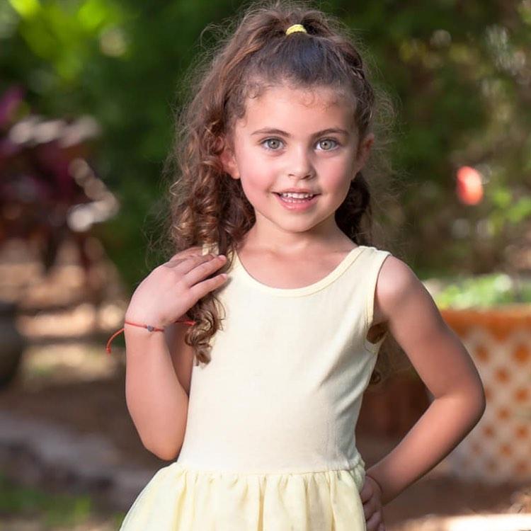 تصویر خوشتیپ ترین دختر بچه