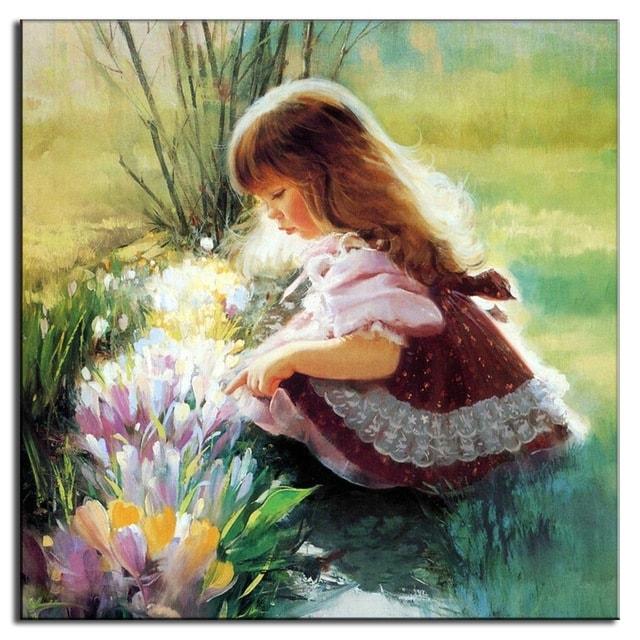 عکس نقاشی فانتزی دختر
