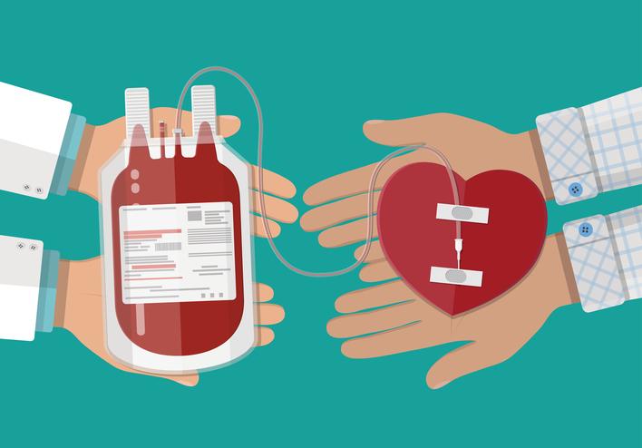 مزیت اهدای خون برای بدن