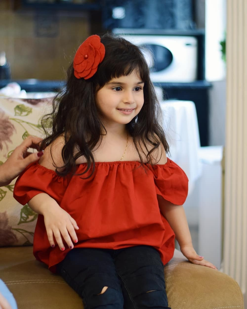 دختر بچه خوش تیپ