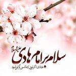 عکس تبریک ولادت امام علی النقی