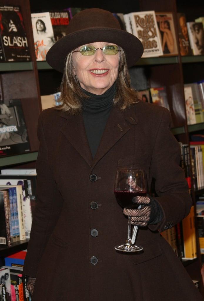 دایان کیتون (Diane Keaton) نیز چپ دست است