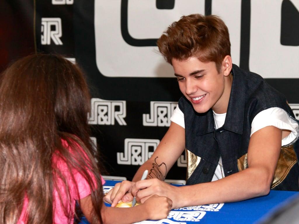 جاستین بیبر (Justin Bieber) چپ دست
