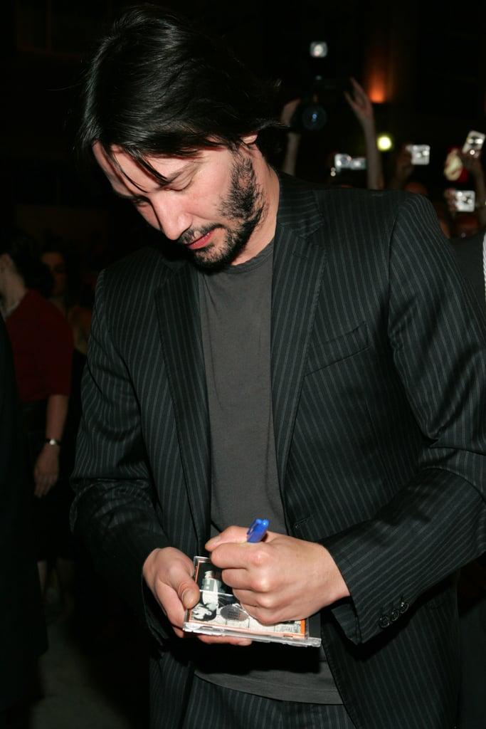 کیانو ریوز (Keanu Reeves) چپ دست