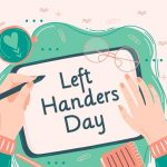 عکس نوشته تبریک روز چپ دستها