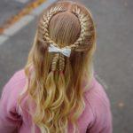 بافت مو فرانسوی دخترانه خاص