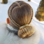 مدل بافت مو لاکچری فرانسوی دخترانه