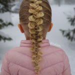 بافت مو فرانسوی دخترانه آبشاری