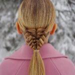 مدل بافت مو فرانسوی آبشاری