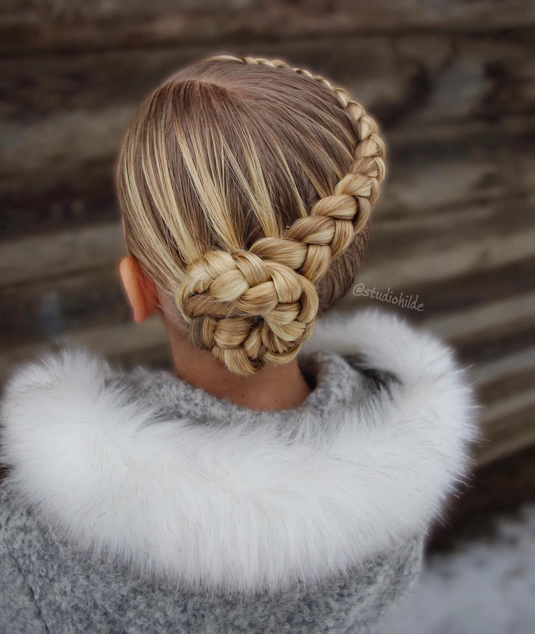 لاکچری ترین بافت مو دخترانه فرانسوی
