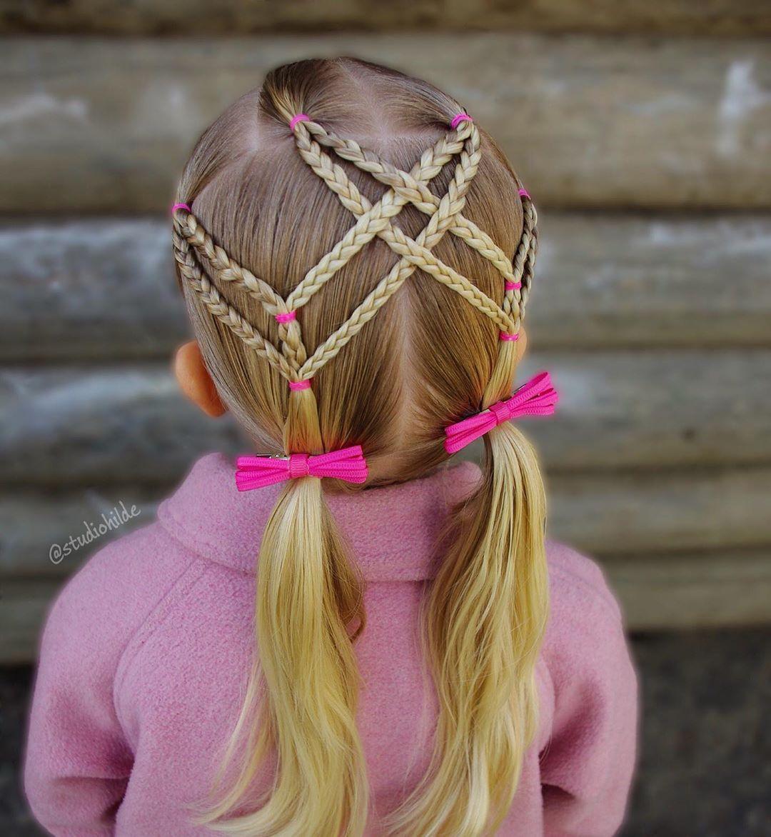 بافت مو دخترانه فرانسوی خرگوشی