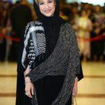 عکس مرجانه گلچین در جشن حافظ 98