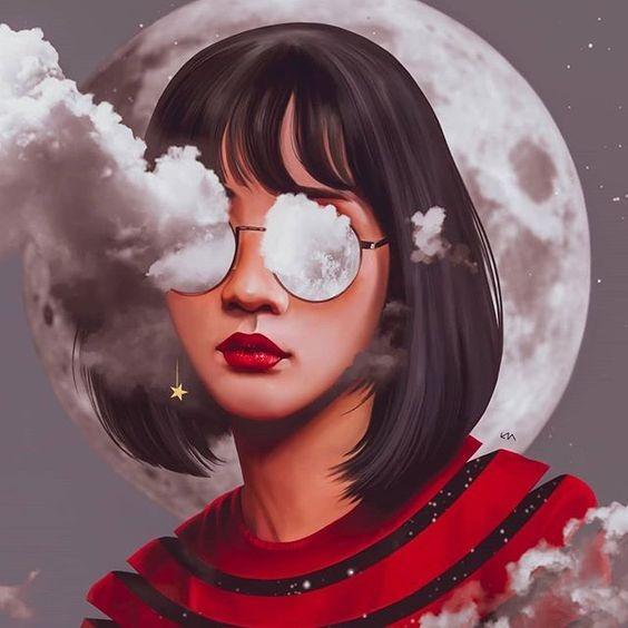 عکس نقاشی دخترونه ساده