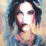 عکس نقاشی دخترانه زیبا