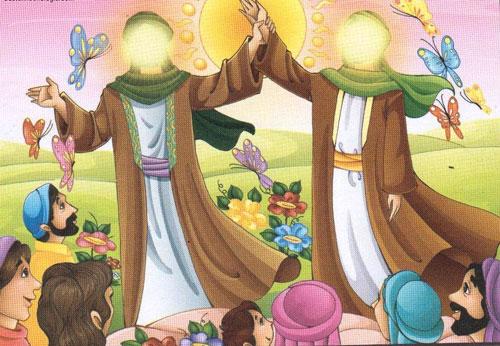 چند نمونه از نقاشی عید غدیر خم برای کودکان