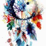 والپیپر دخترونه نقاشی دریم کچر با کیفیت بالا برای موبایل