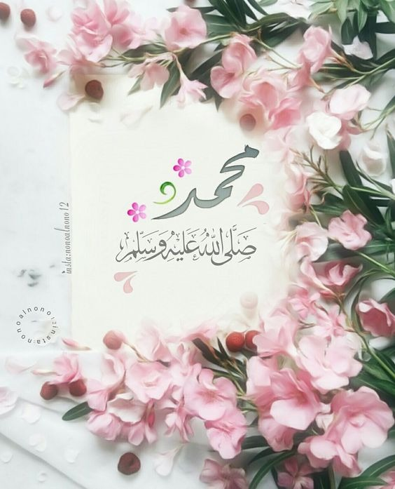 عکس پروفایل دخترانه مذهبی با نام محمد (ص)