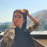 عکسی الناز حبیبی در مسافرت