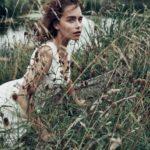 عکس امیلیا کلارک در طبیعت