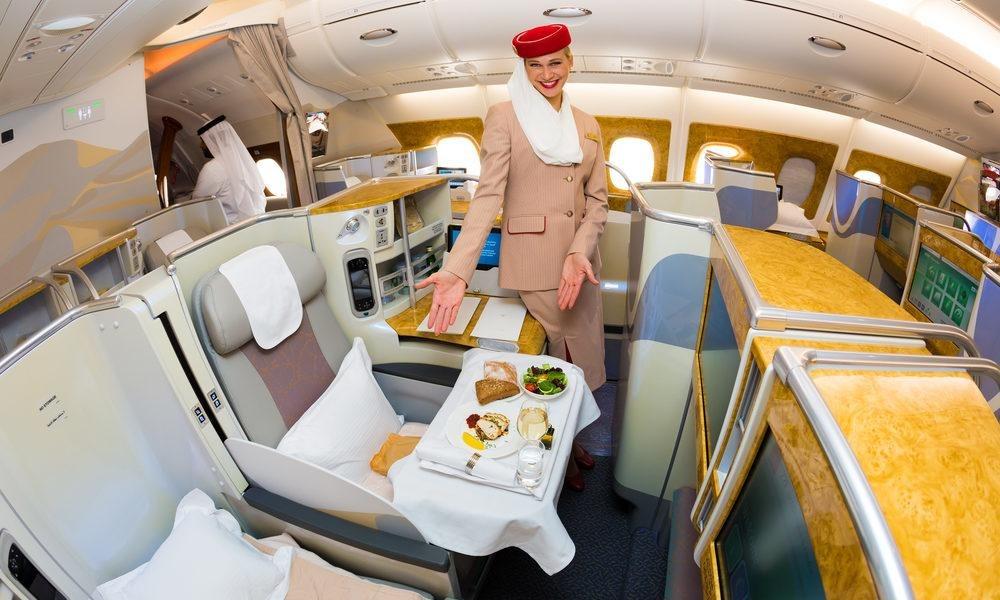 قیمت بلیط هواپیماهای لوکس جهان: ایرلاین امارات (Amirates Airways)