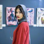 عکس پردیس احمدیه در گالری نقاشی