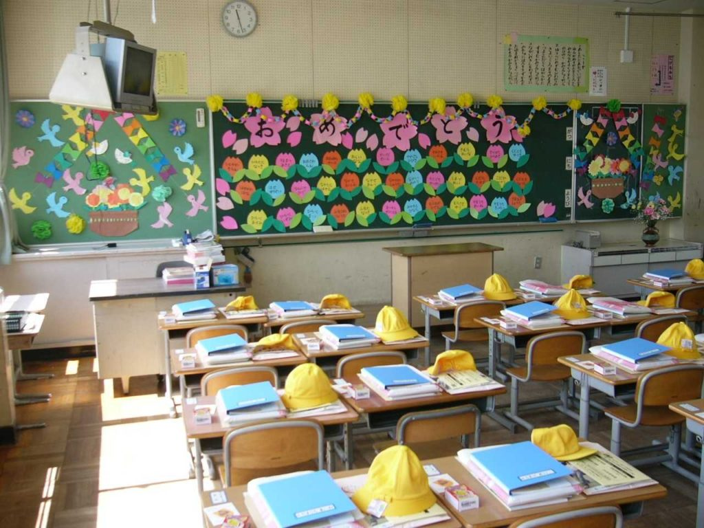 تصاویری از نظم و ترتیب دانش آموزان ابتدایی ژاپن