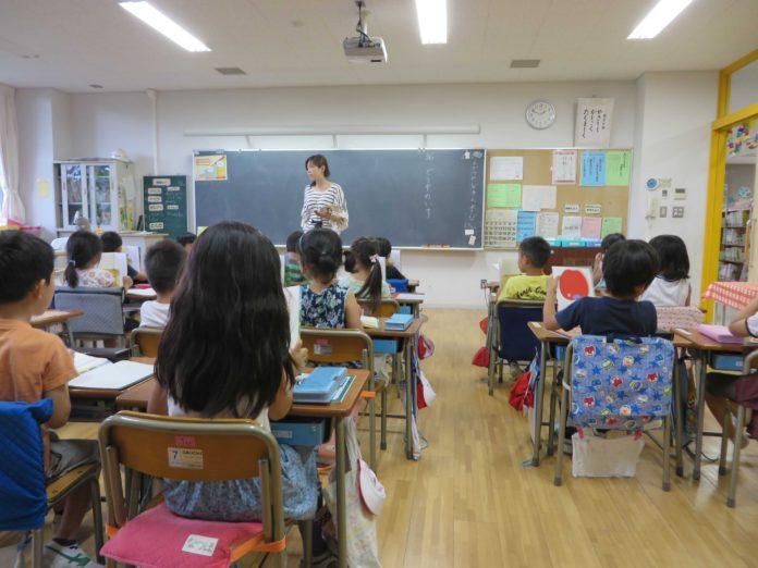 تصاویری از کلاس مدارس ابتدایی در ژاپن