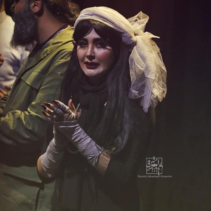 مریم معصومی در تئاتر اجنه عروس