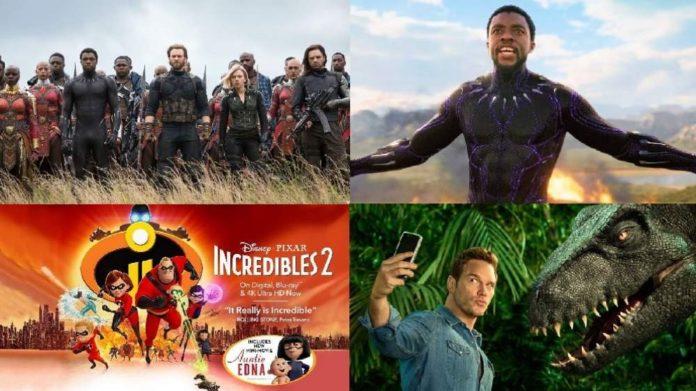 لیست پرفروش ترین فیلم های 2018