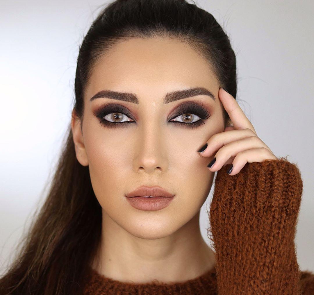 مدل آرایش پاییزی 2019