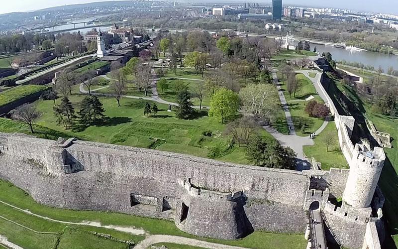جاذبه های گردشگری بلگراد؛پارک کالمگدان(Kalemegdan)