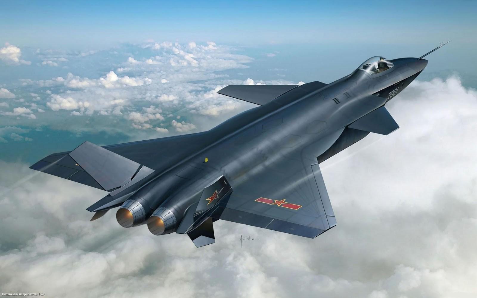 Chengdu J-20 جت جنگنده نسل جدید و پیشرفته کشور چین
