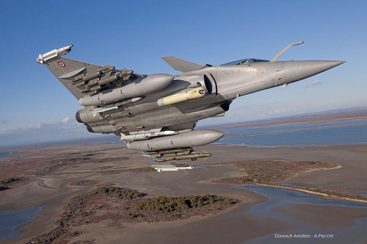 Dassault Rafale یکی از پیشرفته ترین هواپیماهای جنگی جهان