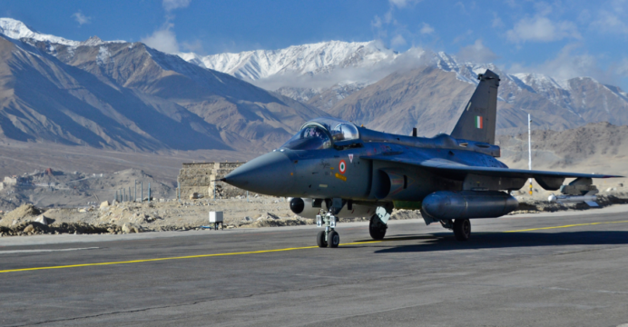 HAL Tejas is an Indian fighter jet