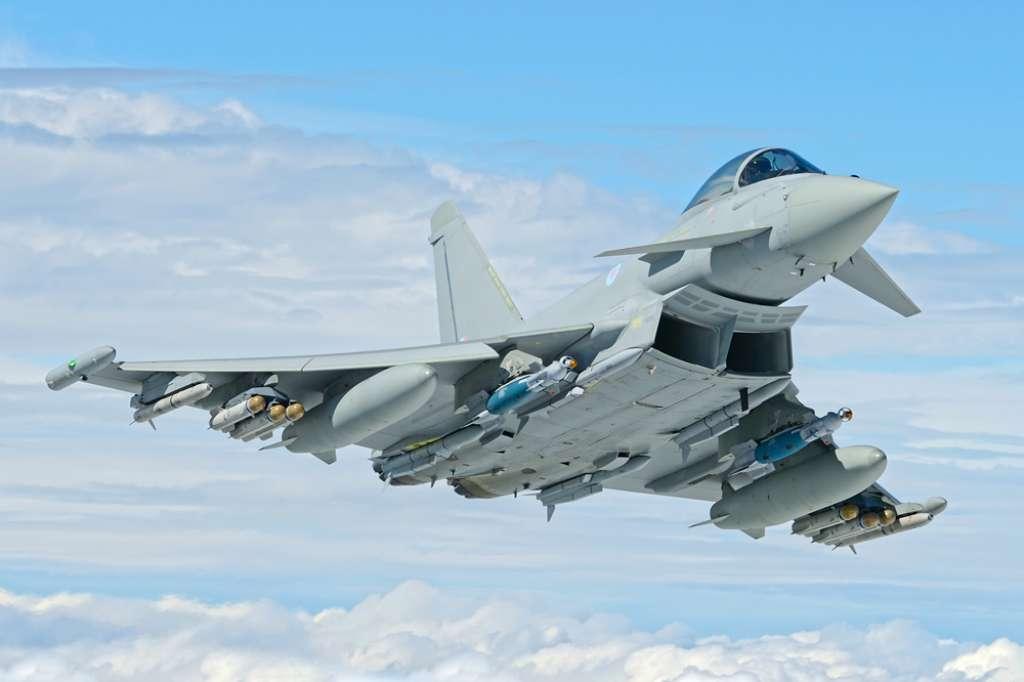 جت جنگنده پیشرفته آلمانی با نام Typhoon