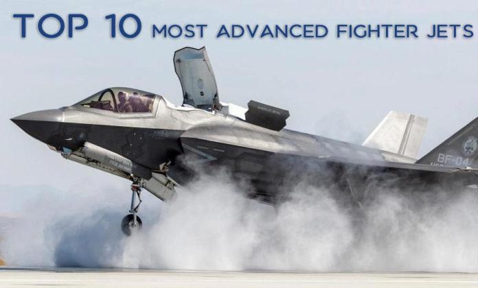 لیست 10 تایی پیشرفته ترین جنگنده جهان
