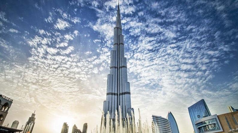عکس بهترین جاذبه های توریستی دبی: برج خلیفه دبی
