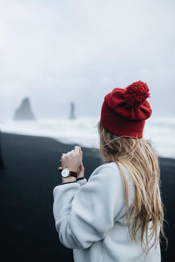 عکس زمستانی دخترانه برای استوری