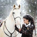 عکس زمستانی برای پروفایل دخترانه