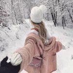 عکس زمستانی دخترانه زیبا