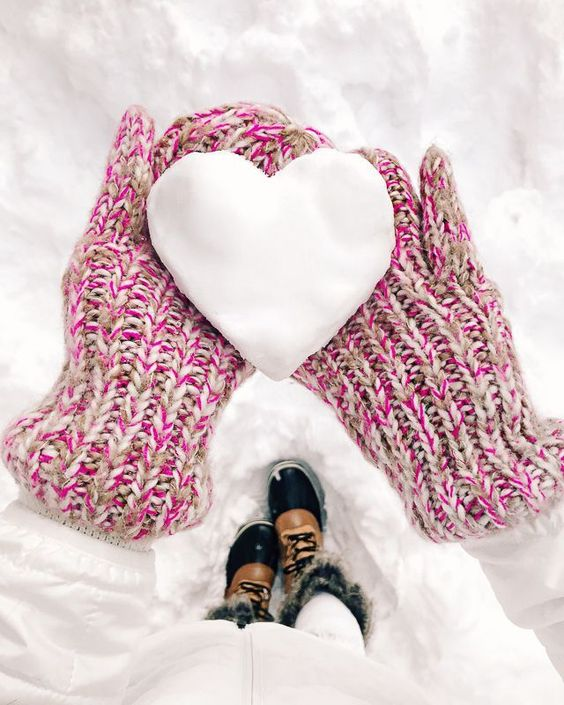 عکس زمستانی زیبا عاشقانه