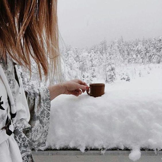 عکس زمستانی زیبا دخترانه