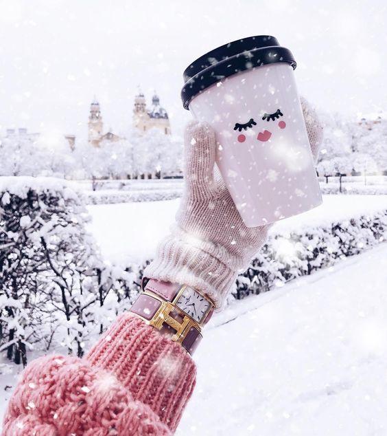 عکس پروفایل دخترانه زیبا برای فصل زمستان