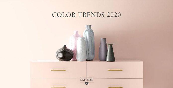 رنگ سال 2020 چه رنگی است ؟ رنگ دکوراسیون داخلی منزل