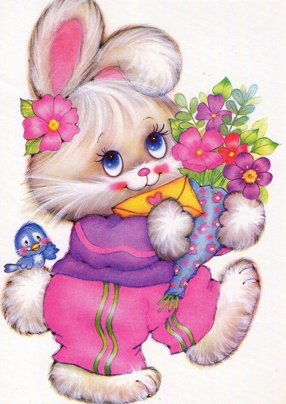 عکس خرگوش کارتونی زیبا