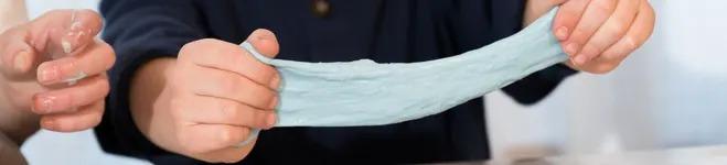 دستور ساخت اسلایم ساده با چسپ