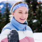 عکس سوفی ترنر در برف