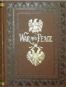 جلد اصلی کتاب جنگ و صلح